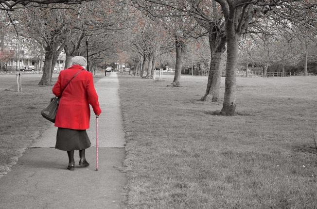 Dame wandelen